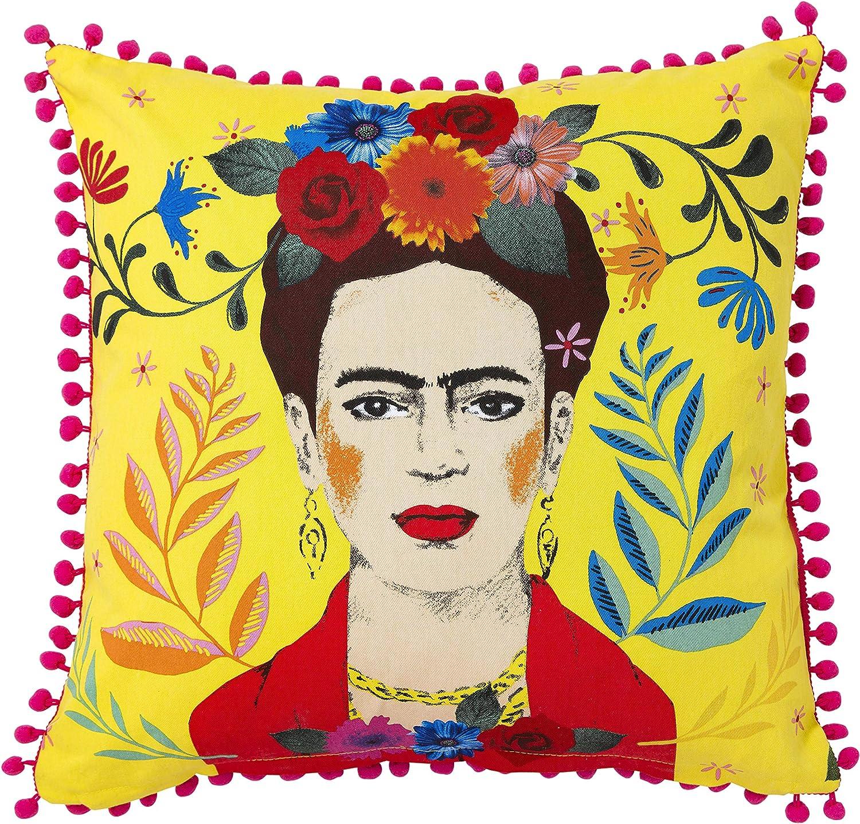 Talking Tables Frida Kahlo   Frida Pillow   45 x 45 cm