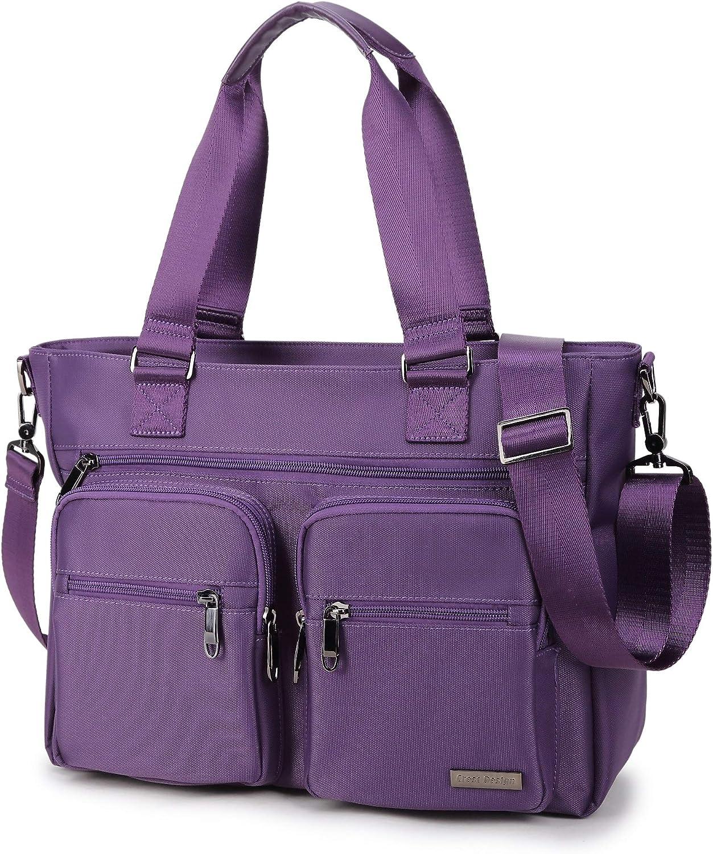 Crest Design Water Repellent Nylon Handbag Bag Shoulder Max Ranking TOP8 84% OFF L Tablet