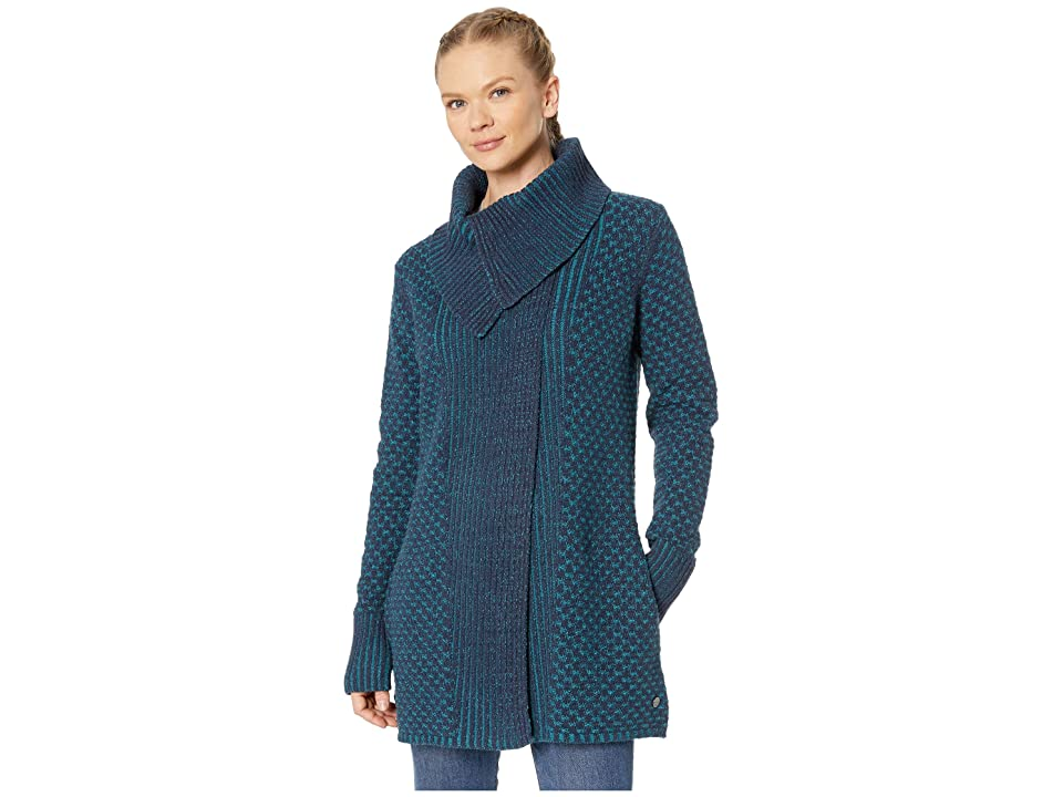 Royal Robbins Frost Cardigan (Blue Coral) Women