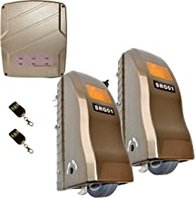 ALEKO RL1350 Rolling Dual Swing Gate Opener for Gates up to 24 Feet Long 1400 Pounds