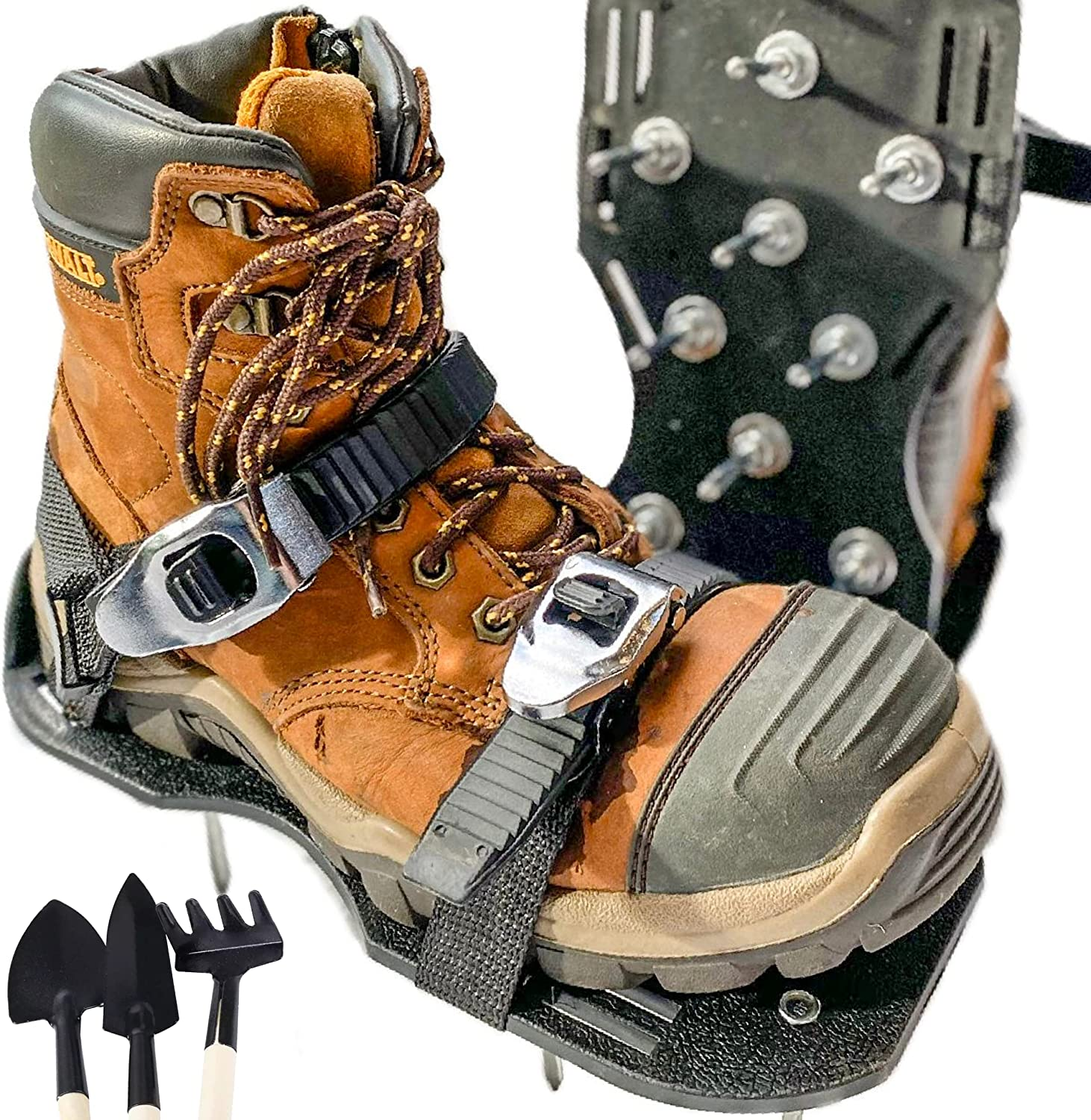 half Montville 25% OFF Garden Lawn Aerator Shoes Magic with R Self-Tightening