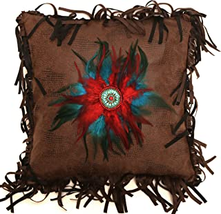 Carstens Feather Circle Pillow