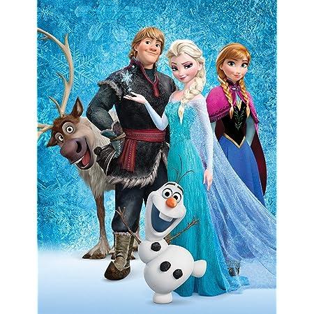 Plaid für Kinder Disney Frozen Decke Winterlich Einzelne Kinderbett Wiege 150cm