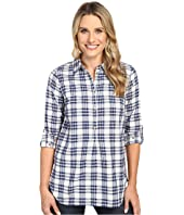 Hatley - Bonded Plaid Pop Over Shirt