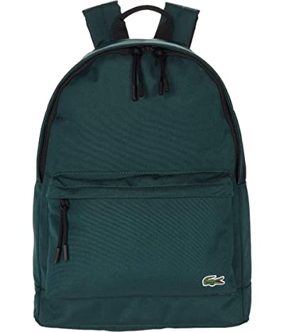 Lacoste Backpack (Breeze/Navy Blue/White/Red/Silver Chine) Backpack Bags