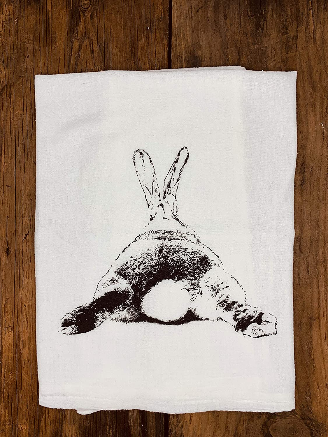 Columbus Mall Tea Towel Bunny Butt Easter Woodland Cottontail Rab Hare Ranking TOP18