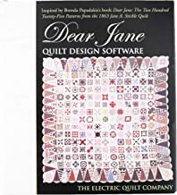 Electric Quilt(R) Company's Dear Jane Quilt Design Software