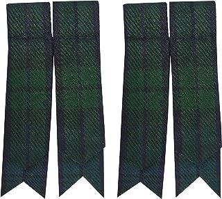 Brewin Noir ou Blanc Écossais Piper Marching Kilt//tuyau Chaussettes Men/'s W