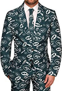 d7b4246a559 Forever Collectibles NFL Mens Repeat Logo Ugly Business Suit - Jacket Tie  Pants