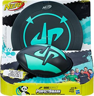 Nerf Sports - Dude Perfect - Perfect Smash Rugby Game - Kids Outdoor Toys - Ages 6+