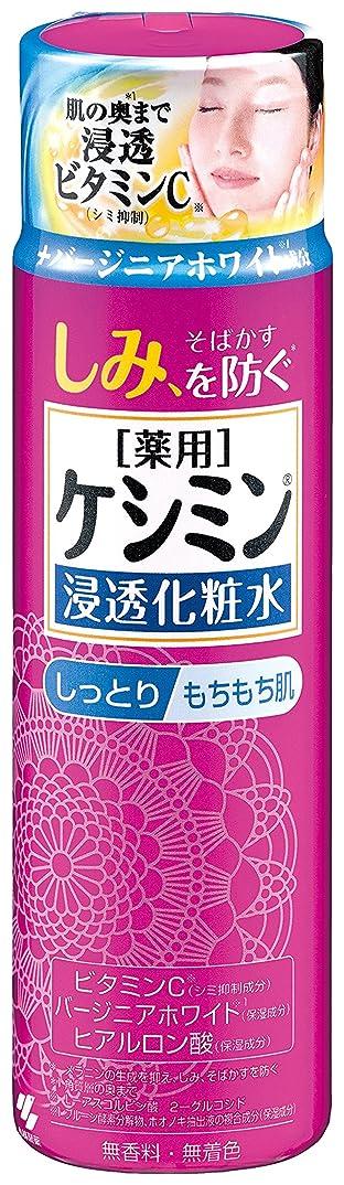 診断する代数的休眠ケシミン浸透化粧水 しっとりもちもち シミを防ぐ 160ml 【医薬部外品】