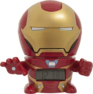 Bulb Botz Infinity War Night Light Marvel Avengers Iron Man Alarm Clock
