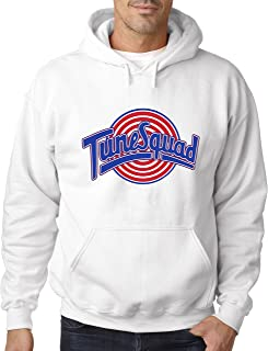 New Way 487 - Hoodie Tune Squad Space Jam Basketball Team Unisex Pullover Sweatshirt