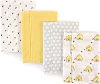 Hudson Baby Unisex Baby Cotton Flannel Burp Cloths