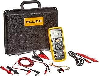 Fluke 1587T Insulation Multimeter for Telecommunications Testing, LCD Display, 100 Megohms Insulation Resistance, Up to 100V Insulation Test Voltage