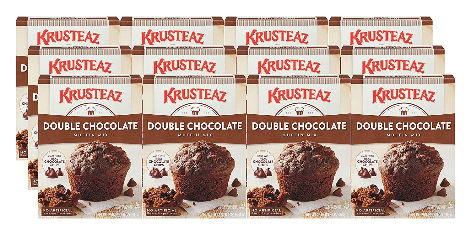 Krusteaz Max 74% OFF Muffin Mix Double with National uniform free shipping Real Made Chocolate