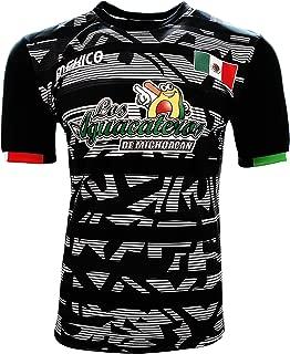 Jersey Mexico Aguacateros de Michoacan 100% Polyester Black/Grey_Made in Mexico