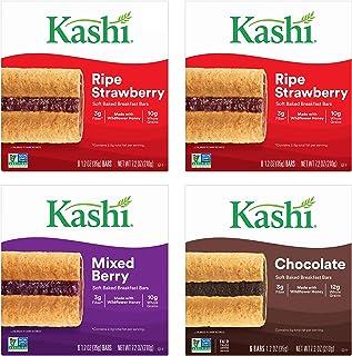 Kashi Soft Baked Breakfast Bars, Ripe Strawberry/Mixed Berry/Chocolate, 28.8 Oz