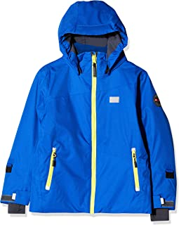 LEGO Wear Boys Jacket With Hole for Headset Cords and Detachable Hood, Blue, 7 Yr