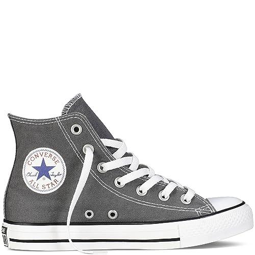 b75aa04cd0e2 Converse Chuck Taylor All Star Seasonal High Unisex Shoes Charcoal 1j793 (9  D(M