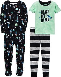 Carter's Boys' 3-Piece Cotton Pajama Set