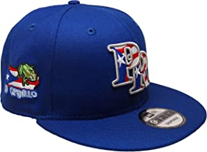 B62830000 570B6783000001 EN Puerto Rico New Era Custom 9Fifty Snapback Hat - Royal, White, Red, Gray