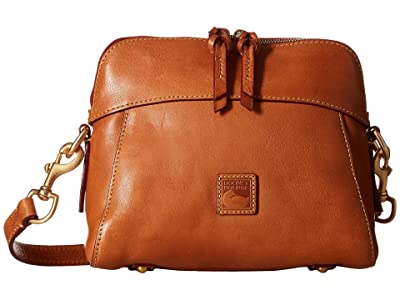 Dooney & Bourke Florentine Classic Cameron Crossbody (Natural/Self Trim) Cross Body Handbags