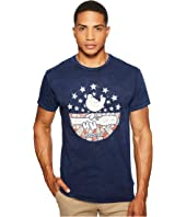 The Original Retro Brand - Woodstock Short Sleeve Mineral Wash T-Shirt
