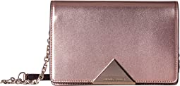 Emporio Armani - Metallic Smooth Leather Cross Body