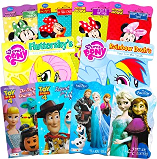 Ultimate Disney Board Book for Toddlers Set ~ Bundle Includes 10 Books for Toddlers Kids Featuring Frozen, Toy Story, Minn...