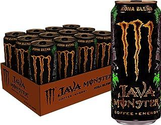 Monster Energy Java Monster Kona Blend, Coffee + Energy Drink, 15 Ounce (Pack of 12)