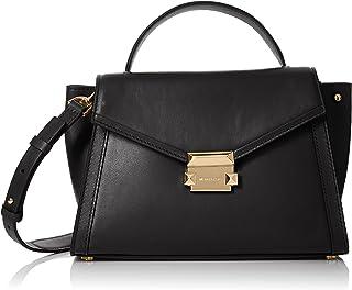 Michael Kors Womens Satchel Bag, Black - 30T8GXIS2L