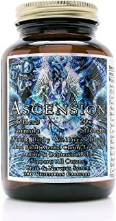 5D Ascension Blend - 55 Herbs (180 Veg Capsules) | 20X Strength, Mood Boost, Mental Clarity, Anxiety & Depression Relief, ...