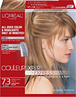 L'Oreal Paris Couleur Experte, 7.3 Dark Golden Blonde/Butterscotch Cream