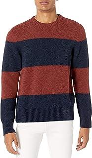 Nudie Unisex Hampus Alpaca Block Stripe Sweater
