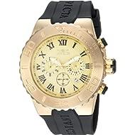 Invicta Men's Pro Diver Stainless Steel Analog-Quartz Watch with Polyurethane Strap, Black, 30...