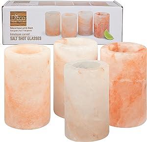 Himalayan Salt Shot Glasses, Set of Four 3