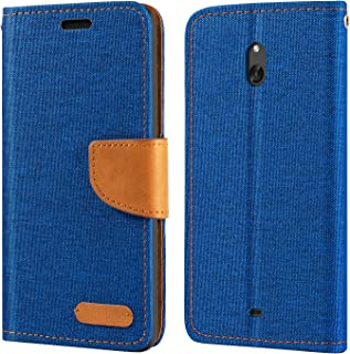 Nokia Lumia 1320 Case, Oxford Leather Wallet Case with Soft TPU Back Cover Magnet Flip Case for Nokia Lumia 1320