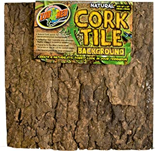 Zoo Med Natural Cork Tile Background, 18 x 18-Inches