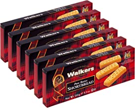 Walkers Shortbread Fingers, 5.3 Ounces (Pack of 6)