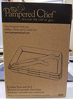 The Pampered Chef Coating Trays and Tool