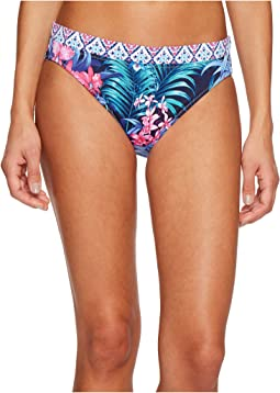 Tommy Bahama - Majorelle Jardin Reversible Hipster Bikini Bottom