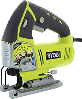 Ryobi JS481LG 4.8 Amp Corded Variable Speed T-Shank Orbital Jig Saw w/ Onboard LED Lighting System