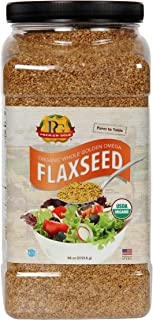 Sponsored Ad - Premium Gold Organic Whole Flax Seed | High Fiber Food | Omega 3 | 96oz