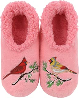 Pairables Womens Slippers - House Slippers - Cardinals