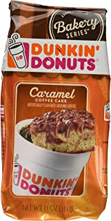 Dunkin Donuts Caramel Coffee Cake (Pack of 2)(11ounces Each)