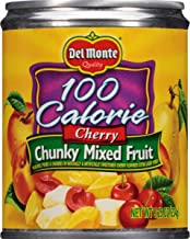 Del Monte 100 Calorie Cherry Chunky Mixed Fruit, 8.25 Ounce (Pack of 12)