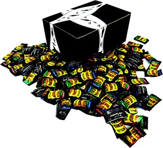 Toxic Waste Assorted Sour Candy, 1 lb Bag in a BlackTie Box