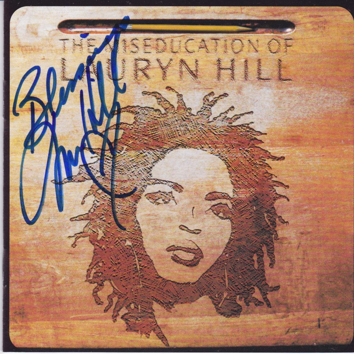 Lauryn Ranking TOP14 Hill signed A surprise price is realized CD