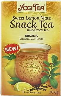 Yogi Tea Organic Sweet Lemon Mate Snack Tea 17 Bags